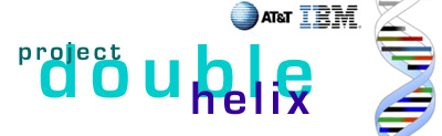 AT&T and IBM Project Double Helix